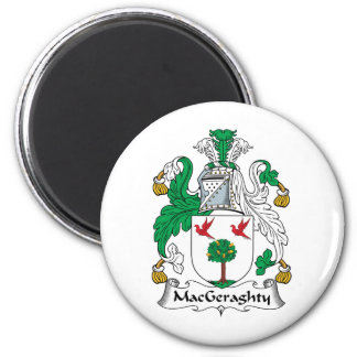 MacGeraghty Family Crest Magnet