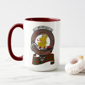 MacGregor Clan Badge Combo 15oz Mug