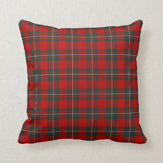 MacGregor Clan Tartan Throw Pillow