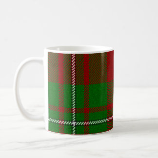 MacGregor Red and Green Tartan Mug