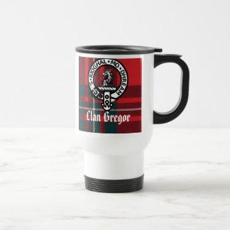 MacGregorRed1, Gregor Badge, Clan Gregor, MacGr... Travel Mug