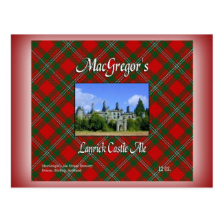 MacGregor's Lanrick Castle Ale Postcard