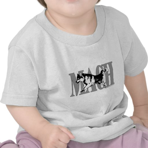 MACH Siberian Husky T Shirt