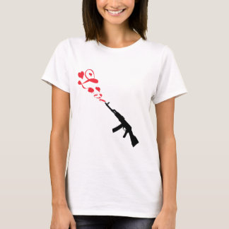 Machine Gun Love red T-Shirt