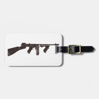 Machine Gun Luggage Tag