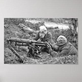 Machine-Gun Nest Poster