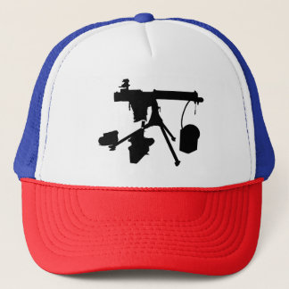 Machine Gun Trucker Hat