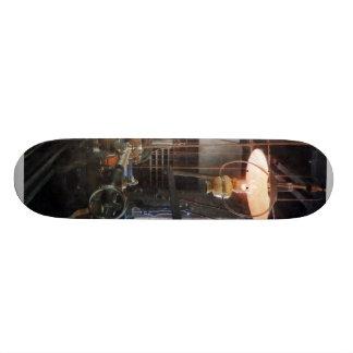 Machine Shop With Lantern Skate Decks