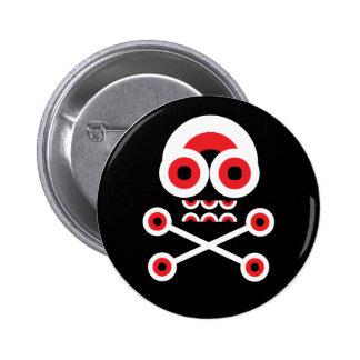 Machine Skull button