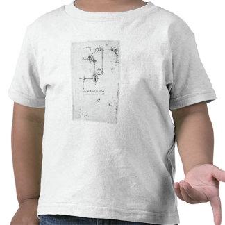Machinery designs, fol. 399v-b tee shirt