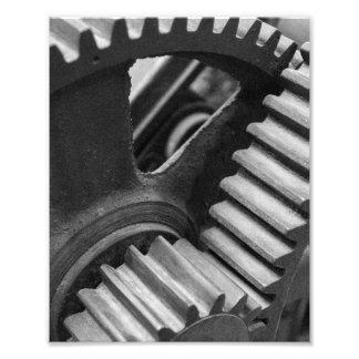 Machinery Gears Photo Print