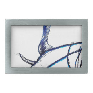 Machines of Loving Grace Rectangular Belt Buckle