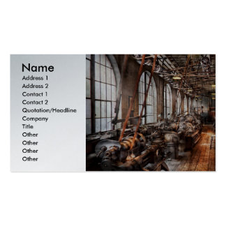 Machinist - A fully functioning machine shop  Business Cards