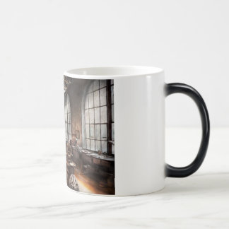 Machinist - A room full of Lathes Magic Mug