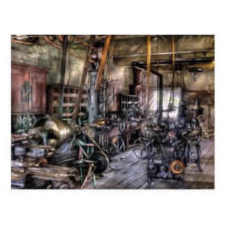 Machinist  - Belts and Pullies Postcard