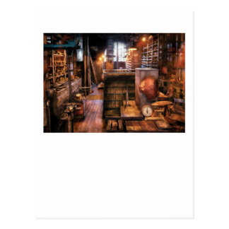 Machinist - Ed's Stock Room Postcard