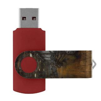 Machinist - Lathes - The original Lather Disc Swivel USB 2.0 Flash Drive