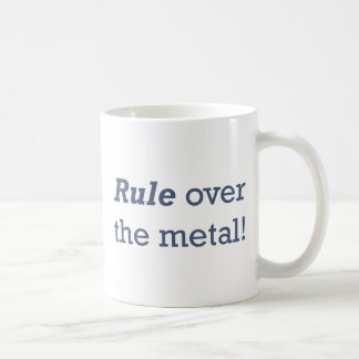 Machinist / Metal Coffee Mug