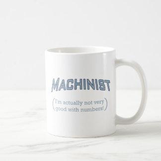 Machinist / Numbers Coffee Mug