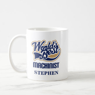 Machinist Personalized Mug Gift