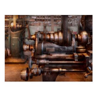 Machinist - Steampunk - 5 Speed Semi Automatic Postcard