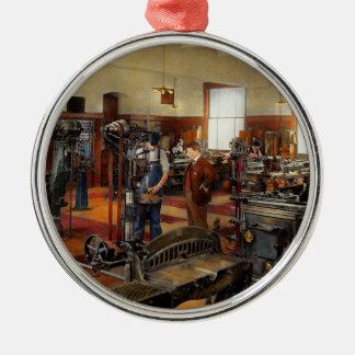 Machinist - The standard way 1915 Metal Ornament