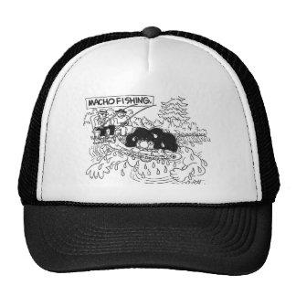 Macho fishing! trucker hats