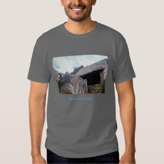 'Machu Picchu 4' dark Tees