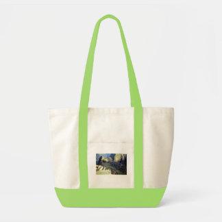 'Machu Picchu at Dawn' Tote Bag