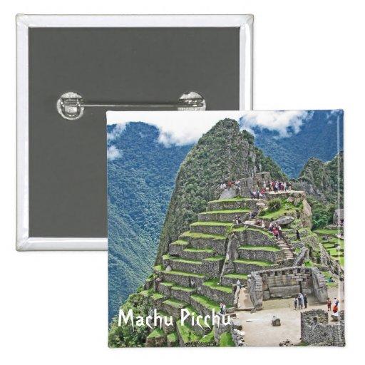 Machu Picchu Button