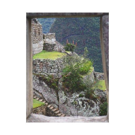 Machu Picchu Canvas Prints