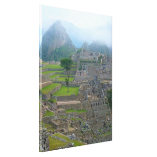 Machu Picchu Gallery Wrapped Canvas
