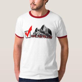Machu Picchu: check! T-Shirt