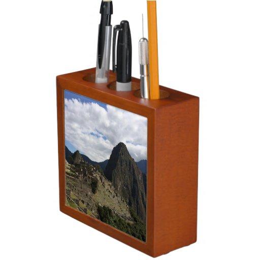 Machu Picchu Desk Organizer