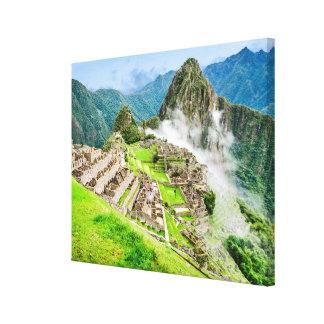 Machu Picchu large canvas