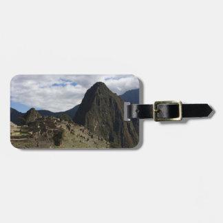 Machu Picchu Luggage Tag