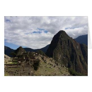 Machu Picchu Notecard Note Card