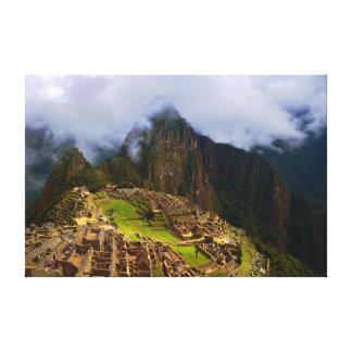 Machu Picchu Overlook, Peru Gallery Wrapped Canvas
