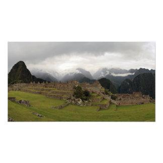 Machu Picchu Panoramic Photo