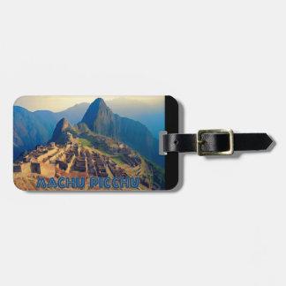 Machu Picchu Peru Luggage Tag
