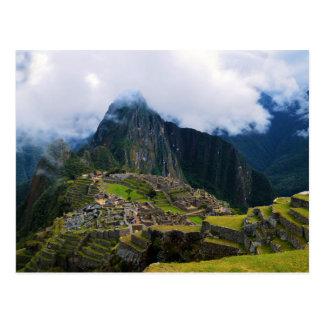 Machu Picchu, Peru, Overlook Postcard