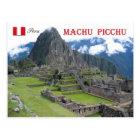 Machu Picchu, Peru Postcard