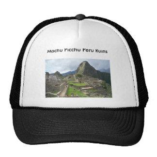Machu Picchu Peru Ruins hat