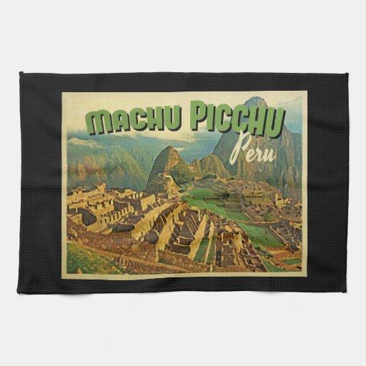 Machu Picchu Peru Towels