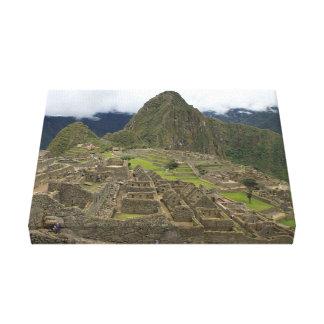 Machu Picchu photo Canvas Print