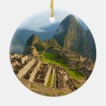 Machu Picchu ruins Christmas Tree Ornament