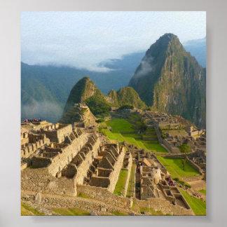 Machu Picchu ruins Poster