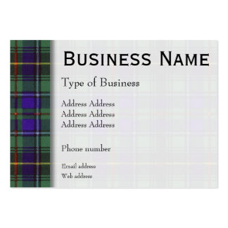 Macinnes clan Plaid Scottish tartan Pack Of Chubby Business Cards