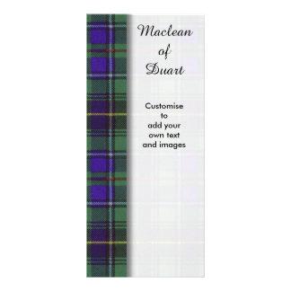 Macinnes clan Plaid Scottish tartan Personalized Rack Card