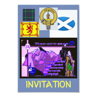 MacIntyre Invitation Card
